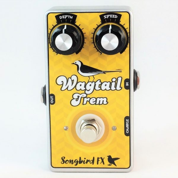 songbird fx wagtail trem optical tremolo pedal effects vactrol fender blackface silverface amp style
