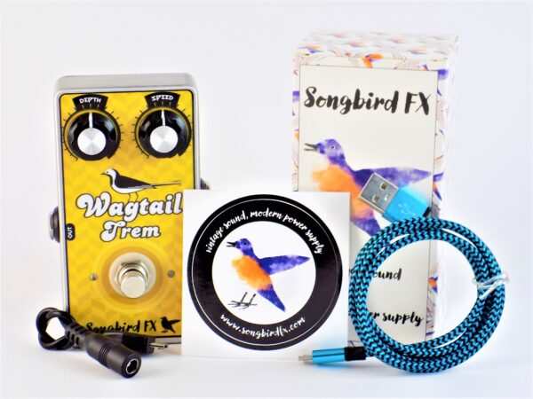 songbirdfx songbird fx wagtail trem scope of supply