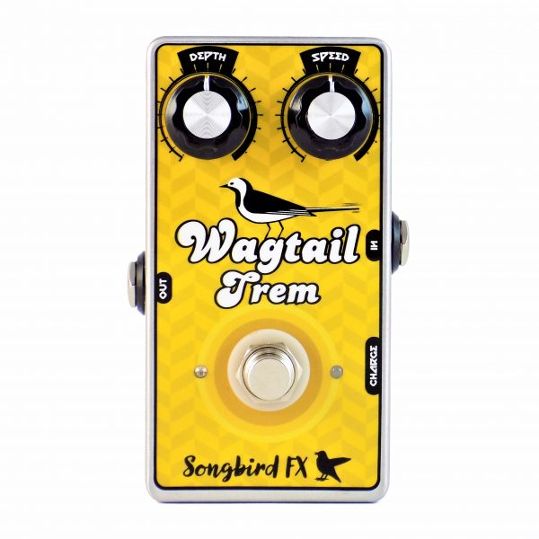 wagtail trem tremolo songbird fx songbirdfx rechargeable analog guitar effects pedal aufladbar