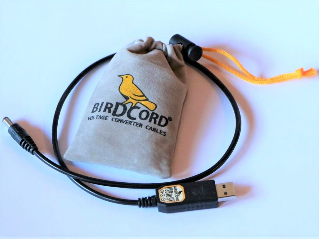 new packaging birdcord pouch velvet bag drawstring output current usb 5v dc to 9v converter cable 5v center negative boss style effects pedals tip negative